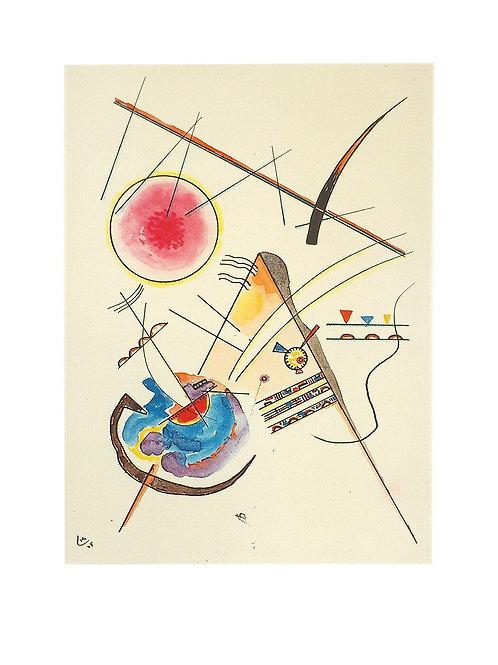 AQUARELL AUS DEM GÄSTEBUCH HESS / Wassily Kandinsky