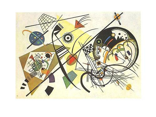 DURCHGEHENDER STRICH / Wassily Kandinsky