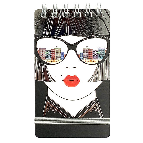 VERRIER HANDCRADATED MINI NOTEBOOK/TAKE ME TO NYC