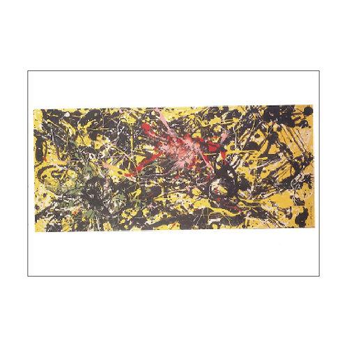 Jackson Pollock Postcard PC-M-18
