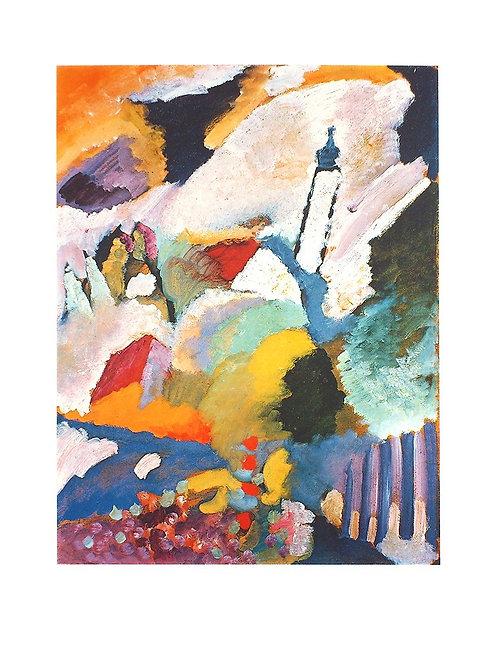KIRCHE IN MURNAU / Wassily Kandinsky