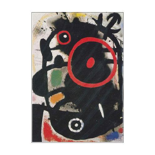 Joan Miró Postcardの複製