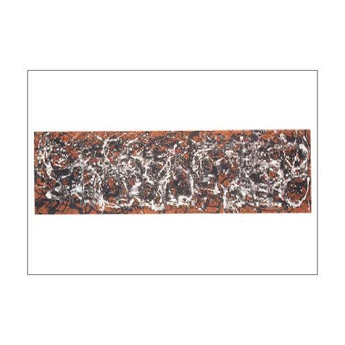 Jackson Pollock Postcard PC-M-17