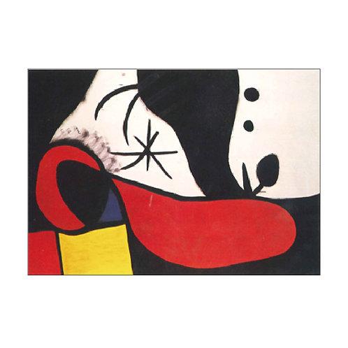 Joan Miró Postcard