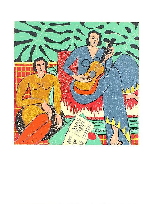 La Musique, 1939 / Henri Matisse