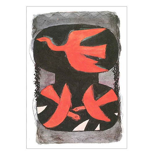 Georges Braque Postcard