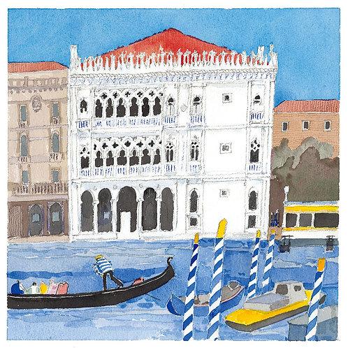 Venice dock / Italy