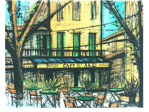 LE CAFÉ DES ARTS / Bernard Buffet