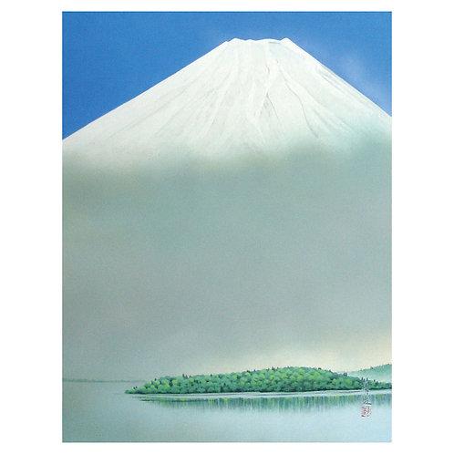 Kojyo-fugaku/Mt. Fuji on the lake
