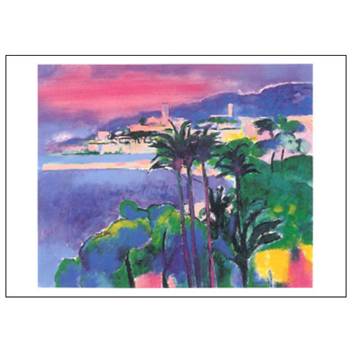 Paul Guiramand Postcard