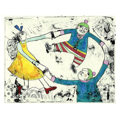 Tweedledum, Tweedledee and Alice