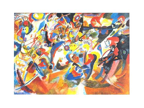 STUDIE ZU KOMPOSITION 7 / Wassily Kandinsky