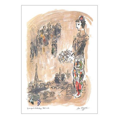 Marc Chagall Postcard
