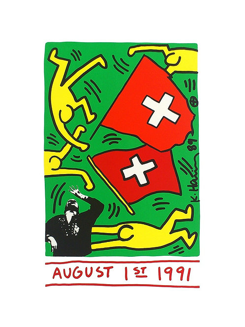 The Celebration of the 700th Birthday of Switzer / Keith Haring