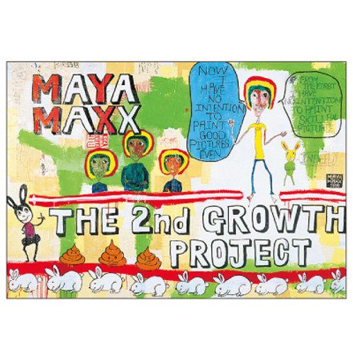 MAYA MAXX Postcard