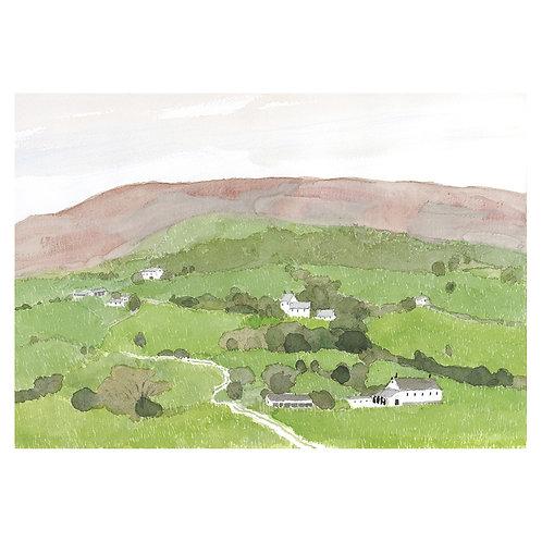 Scottish countryside/UK