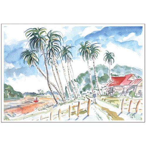 Takaaki Enoki Postcard