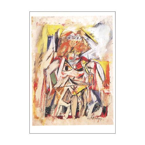 Willem de Kooning Postcard PC-M-1