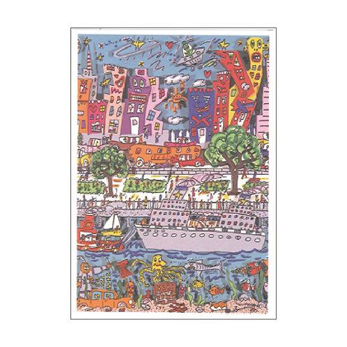 James Rizzi Postcard PC-420