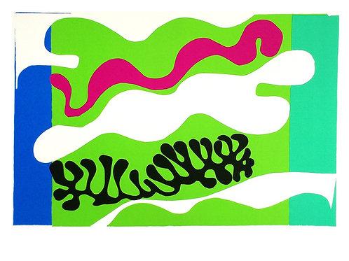 LE LAGON/JAZZ 18 / Henri Matisse