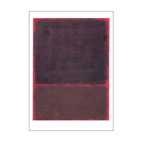 Mark Rothko Postcard