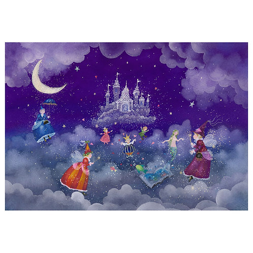 Between the clouds … the magic of fairies
