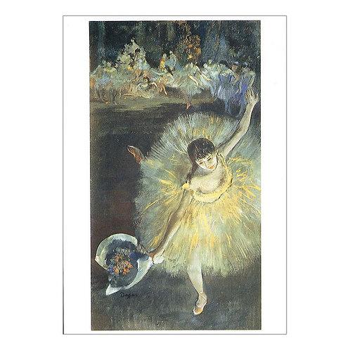 Edgar Degas Postcard