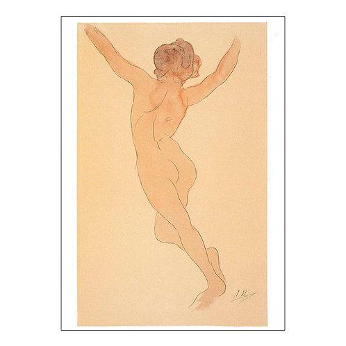 Auguste Rodin Postcard