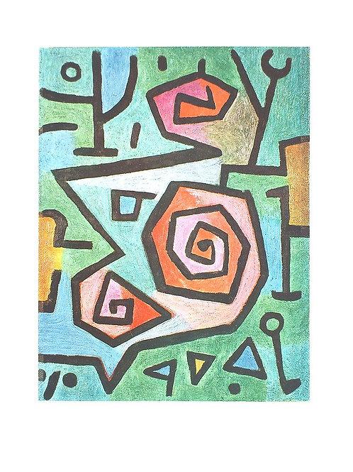 HEROISCHE ROSEN / Paul Klee