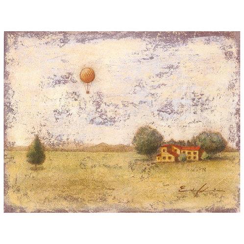 I had a dream on a balloon