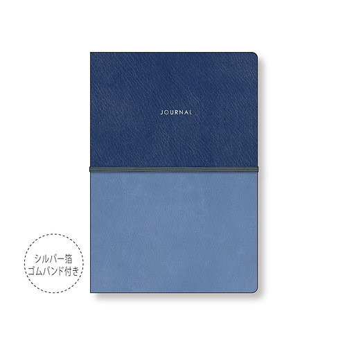 2021 Notebook B6 Spread 4 days weekly finie [Finier] Standard type / navy
