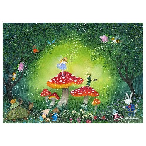 Secret in forest
