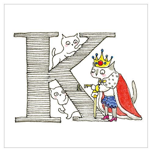 MAI TAKEWAKI's Alphabet series : K