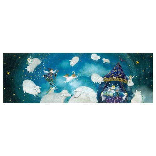 Sleepless night sheep