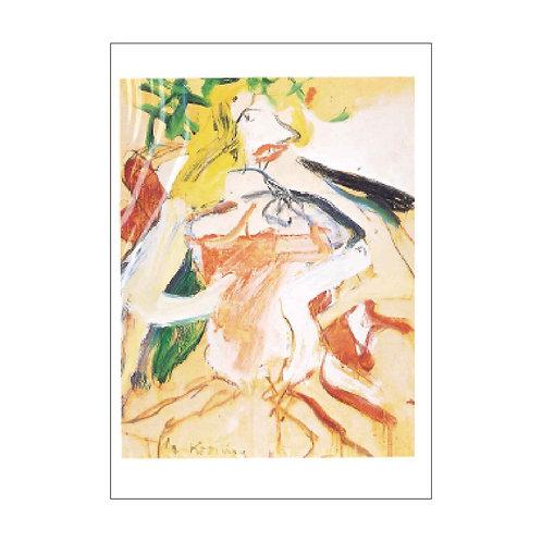 Willem de Kooning Postcard PC-M-20