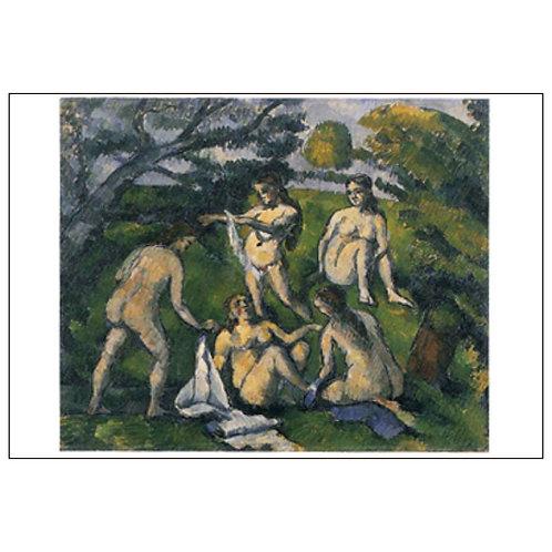 Paul Cézanne Postcard