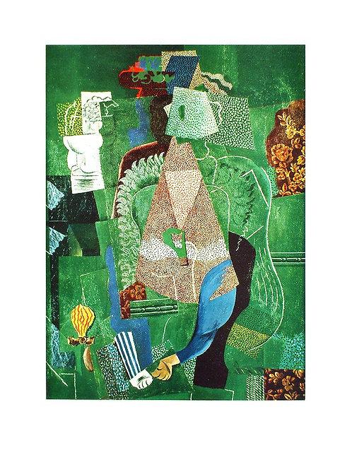 PORTRAIT DE JEUNE FILLE / Pablo Picasso