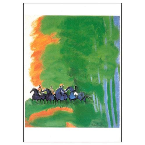 Andre Brasilier Postcard