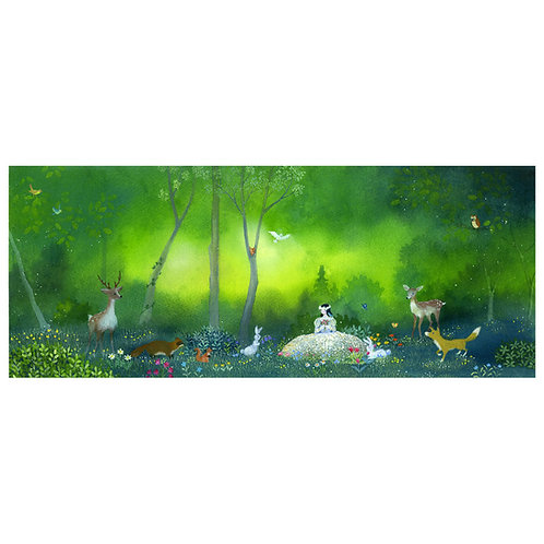 Snow White ... Forest Friend