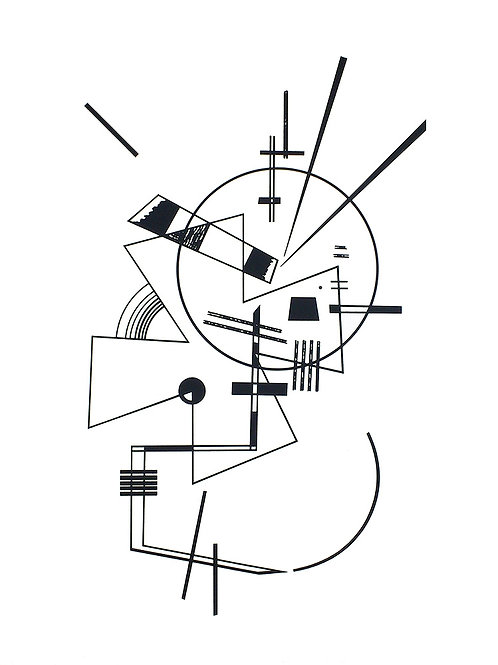 LITHOGRAPHIE N. 2 / Wassily Kandinsky