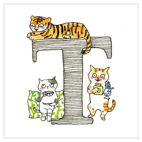 MAI TAKEWAKI's Alphabet series : T
