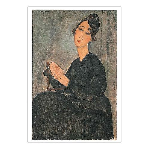 Amedeo Clemente Modigliani Postcard