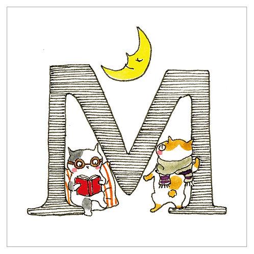 MAI TAKEWAKI's Alphabet series : M