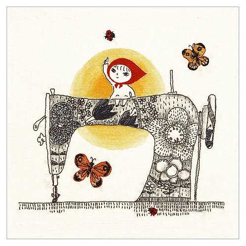 Sewing machine fairy