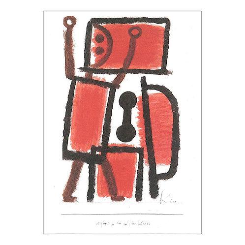 Paul Klee Postcard
