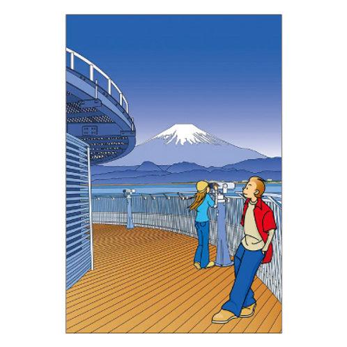 Juju Takeshi Postcard Vamos Devagar