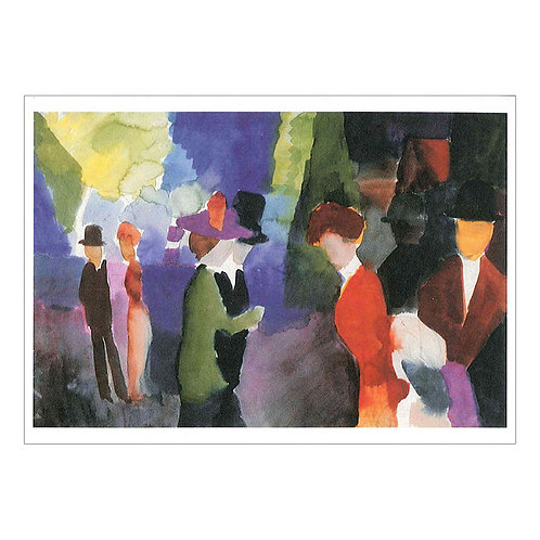 August Macke Postcard