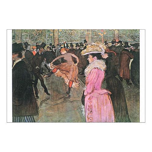 Henri de Toulouse-Lautrec Postcard
