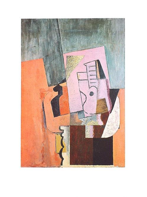 LA GUITARE / Pablo Picasso