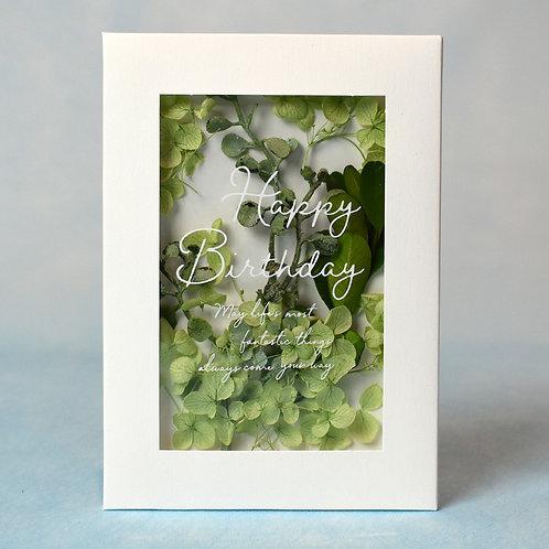Herbarium Birthday Green